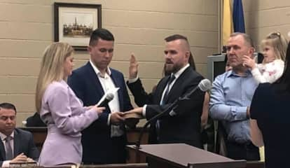 Dan Golabek, 24, Sworn In As New Elmwood Park Mayor