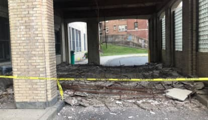 Roof Collapses At Special Needs School In Jersey City