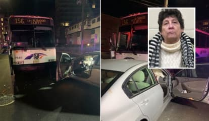 Police: Fugitive DWI Health Aide Crashes Sedan Into Bus In Cliffside Park, Injures Patient, 80