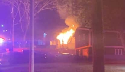 Two-Alarm Fire Destroys Home In Area