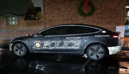 Westport Police Add Electric 2020 Telsa To Fleet