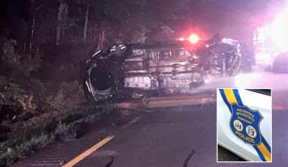 UPDATE: Rescued Bergen Driver Loses Leg, Survives Fiery Crash On Palisades Interstate Parkway