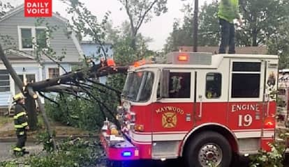 AFTERMATH: Maywood Firefighter, 71-Year-Old Driver Among Several North Jersey Storm Victims