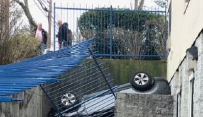 Senior Trio Emerges Unscathed After SUV Flips In Palisades Park Crash