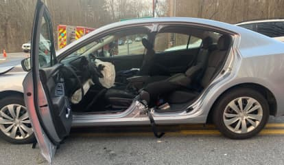 One Driver Trapped In Head-On Northern Westchester Crash