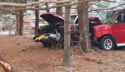 Crash Injures Four After Driver Allegedly Runs Stop Sign In Rockland