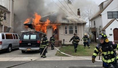 Man Barricades Himself Inside Long Island Home, Sets Fire, Police Say