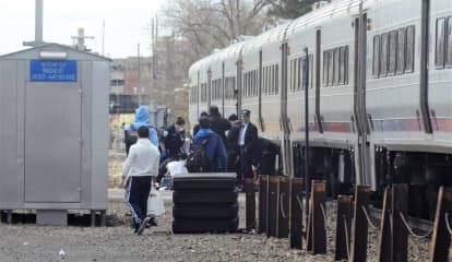 Woman Hit By Train In Hackensack