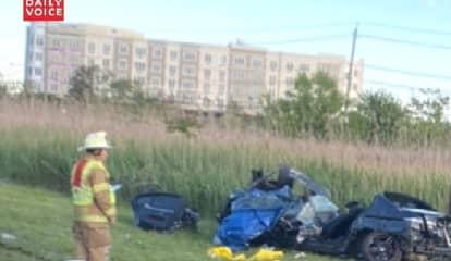 Three Injured In Crash Outside MetLife Stadium