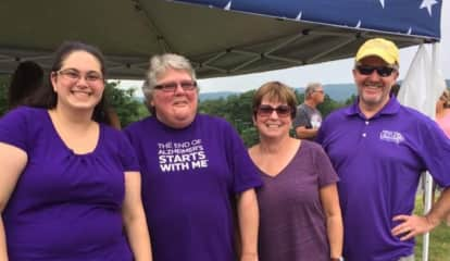 Rockland Woman Walks For Alzheimer's In Honor Of Grandmother