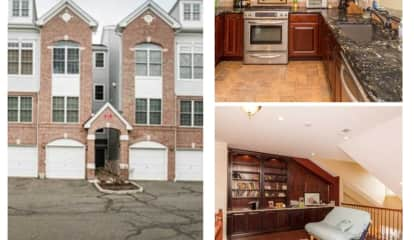 Luxury Hawthorne Townhouse Is Move-In Ready With Renovated Loft