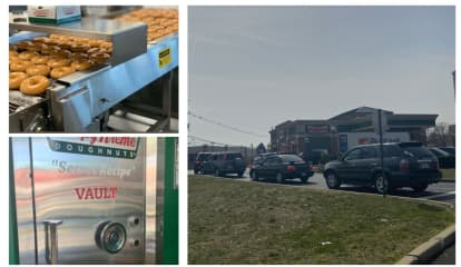 COVID-19 Can't Stop, Won't Stop Business Boom At Bergen County Krispy Kreme