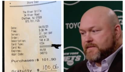 NY Jets GM Joe Douglas Keeps Leaving Fat Tips At Morris County Restaurant