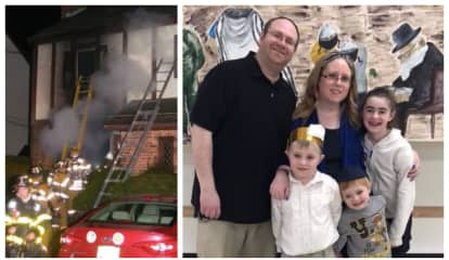 'Starting From Scratch': Fundraisers Aid Fair Lawn Family Displaced By Fire