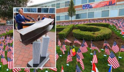 Port Authority Chairman, Companions Praise Cedar Grove High School's 9/11 Remembrance