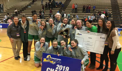 State Champion Ossining, Irvington Girls Basketball Teams Get Heroes' Welcomes