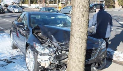 'Someone Ran A Light' In Three-Vehicle Fair Lawn Crash
