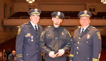 Julio Rodriguez Named Norwalk Police Department Officer Of The Year