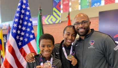 Brother, Sister Who Train In Westchester Win Medals At Youth Championships