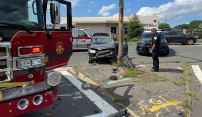One Hospitalized In Massachusetts Crash