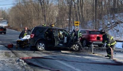 Multi-Vehicle Crash Shuts Down Route 82 Stretch