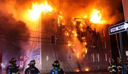 PHOTOS: Roaring Blaze Destroys Garfield Apartment Building