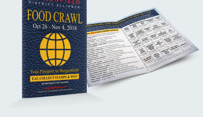 Bergenfield's Food Crawl Passports Are Now Available