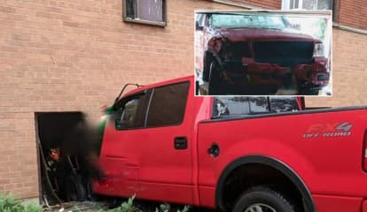 Police Ticket Unlicensed Driver Whose Pickup Smashed Through Hackensack Apartment Window
