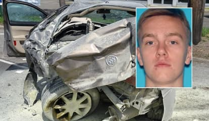 Paramus PD: Fiery Route 4 Rollover Crash Caused By OD'ing Heroin User
