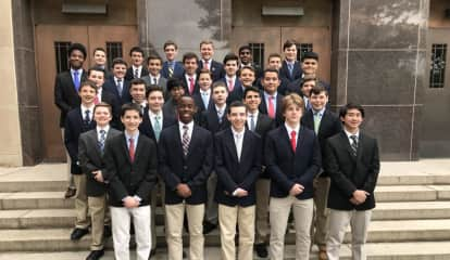 Stepinac Welcomes 33 Into Honor Society