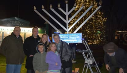 Menorah Lightings Set For Throughout Fairfield County