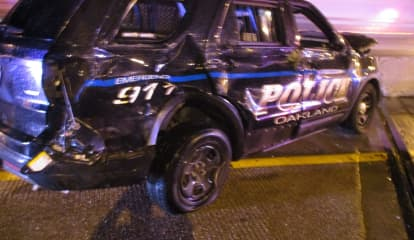 Tractor-Trailer Hits Police Car, Injures Officer On Notorious Stretch Of Route 287