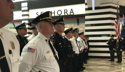 Bergen Police Chiefs Commemorate 9/11 In Paramus