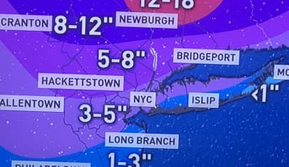 Storm Alert: Projected Snowfall Totals Increase Dramatically For Nor'easter That Will Slam Area