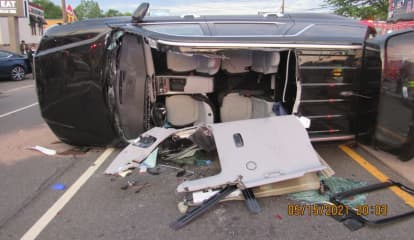 HEROES: Firefighters, Off-Duty Police Officer Rescue Driver, Young Child In Route 46 Rollover