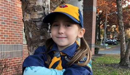 Paramus' First Female Cub Scout Leads By Example