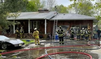 Mahwah Firefighters Make Quick Work Of Home Blaze