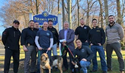 Paramus PBA Donates $3G To Ramapo Bergen Animal Refuge