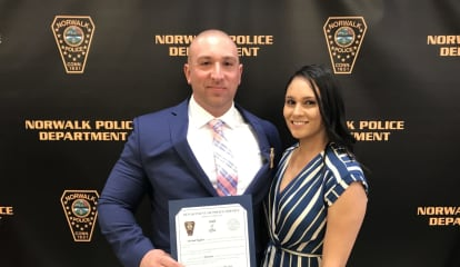 Norwalk Police Officer Promoted To Lieutenant