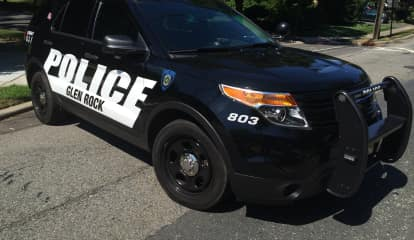 Glen Rock PD: DWI Motorist From Ridgewood Squeezes Between Police Cruiser, Car On Route 208