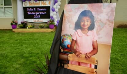 Linden School Installs Memorial To 5-Year-Old Student Sofia Thomas