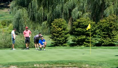 Pace Athletic Department Tees Up At Annual Harrison Golf Outing