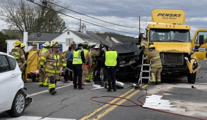 10 Hospitalized In Upper Macungie Crash (PHOTOS)