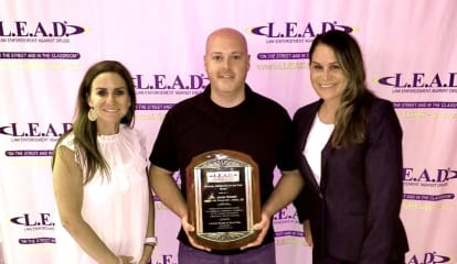 Howell Township Officer Honored For Unique Approach To L.E.A.D. Instruction