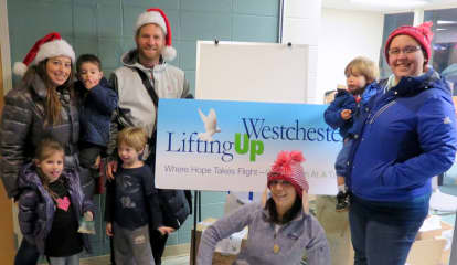 Scarsdale Family Gets Into Holiday Spirit With Lifting Up Westchester