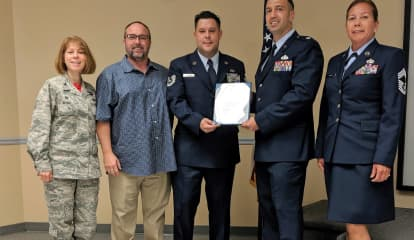 USAF Honors NJ Sergeant For Anti-Suicide Work Among Vets, Responders