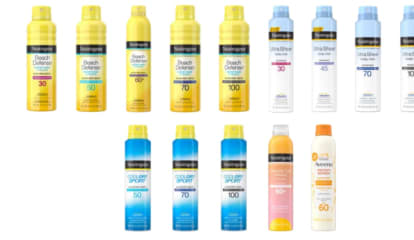 Five Sunscreens Recalled Due To Cancer-Causing Chemical