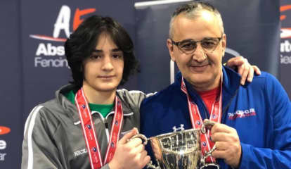 Northern Westchester Fencer Brings Home Gold at Junior Olympics