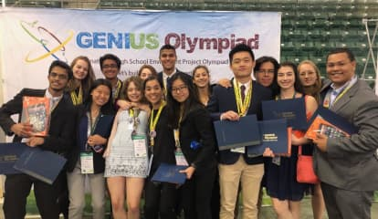 Ossining HS Wins Most Successful School Award At GENIUS Olympiad