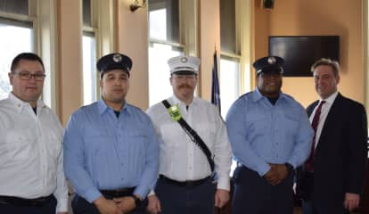 Newburgh Fire Department Unveils New Recruits, Announces Promotions